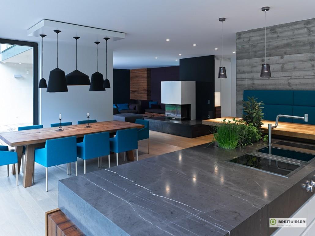 Küchen mit Naturstein – Hafnermeister Sulzer